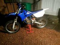 Yamaha yz85 bw