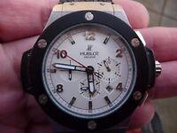 HUBLOT auto gents large watch