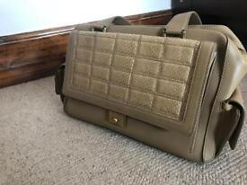 Vintage Jimmy Choo Catherine leather snakeskin handbag