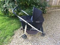 Uppababy Cruz Pushchair and Carrycot