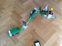 Toy story action links (junkyard escape stunt set)