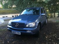 Mercedes ML 270, blue, full service history, 79000