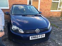 VW GOLF 1.6 Tdi bluemotion 3dr FSH £20 tax a year May PX