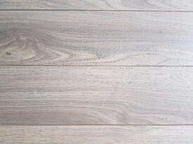 Brand New Oak Effect Laminate Flooring (3 x 1.85m² packs)