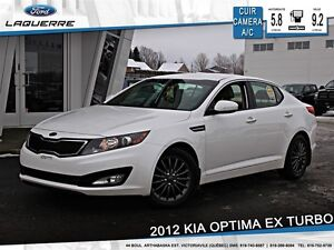 2012 Kia Optima **EX TURBO*CUIR*CAMERA*CRUISE*A/C**