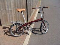 Bickerton Junction Folding Bike 1707