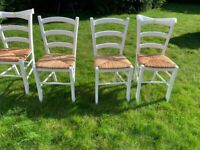 dining chairs 4 chairs kitchen chairs white chairs wooden chairs rustic chairs
