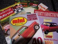 Mini magazines.