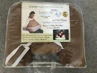 Twin breast feeding pillow support pillow