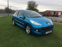 12 REG PEUGEOT 207 1.4 SPORTIUM 3DR-GREAT LOOKING IDEAL 1ST CAR WITH GOOD SPEC
