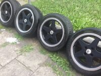 "ALLOYS WHEELS 16""BMW E30 5 SPOKE"