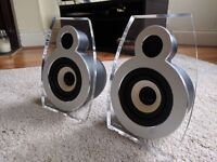 Lars & Ivan BoBo Designer 2-Way 35W x 2 Passive Speakers System - £25