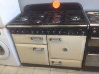 Rangemaster 90cm 6 burner Cream Range Gas Cooker with 4 MONTHS WARRANTY