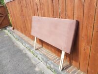 Headboard to suit Double Bed in very good lightly used condition (see pics)