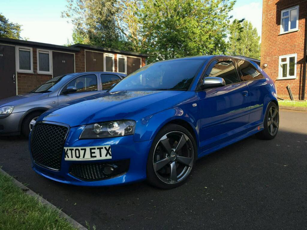 2007 audi s3 2 0 tfsi fully forged sprint blue bargain in sandwell west midlands gumtree. Black Bedroom Furniture Sets. Home Design Ideas