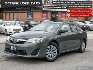 2012 Toyota Camry Hybrid LE Accident Free! Well Maintained