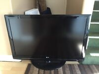 "42"" lg tv with burnt screen"