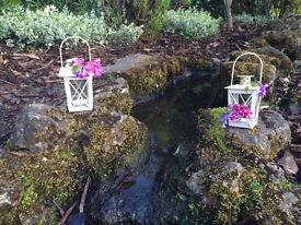 100 x Brand New Mini Ivory Lanterns - Perfect Wedding Decor / Favours - Don't hesitate to enquire