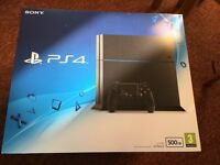 Playstation 4 Brand New sealed with Full warranty + possible at extra FIFA 17 DOOM UNCHARTED MAFIA 3