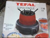 Tefal super fondue electric new in box £15