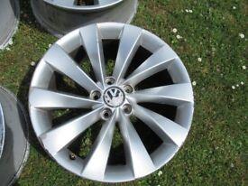 "VW Interlagos 18"" Alloy Wheels"