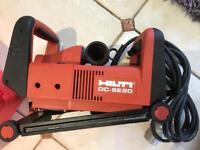 Hilti dc se-20 wall chaser slitting machine
