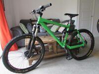 Kona Coil-Air Full Suspension Mountain Bike - High Spec