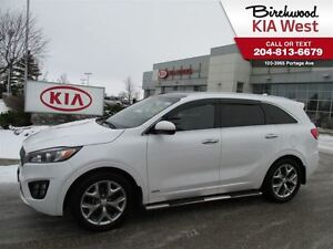 2017 Kia Sorento SX Turbo WITH SIDE STEPS AND TOW PACKAGE