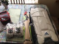 Top of the range cricket equipment