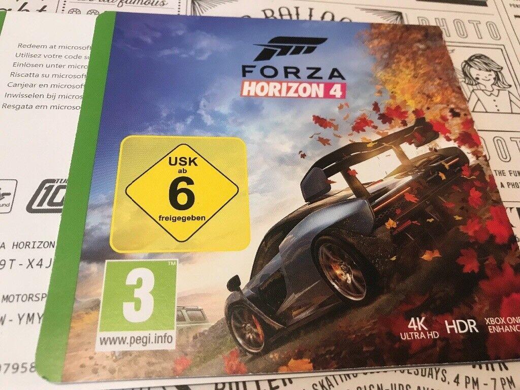 forza 7 xbox one redeem code