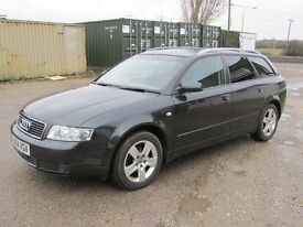 2004 Audi A4 Avant Estate 1.9 TDI SE , 6 speed gear box , black color .