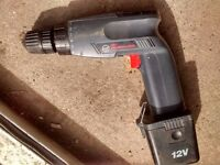 Black and Decker Cordless drill 12 volts