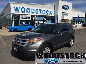 2014 Ford Explorer XLT, LEATHER, CAPTAINS CHAIRS