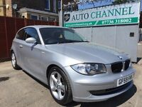 BMW 1 Series 2.0 118d Sport 3dr£5,995 p/x welcome 1 YEAR FREE WARRANTY. NEW MOT