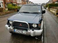Mitsubishi Pajero 1992. Spares or repair.