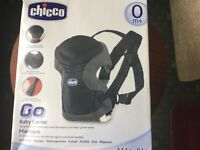 Chico baby carrier and Baby bag