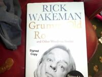 Autographed Biography