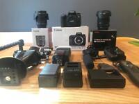 Canon 760D, lens & accessories