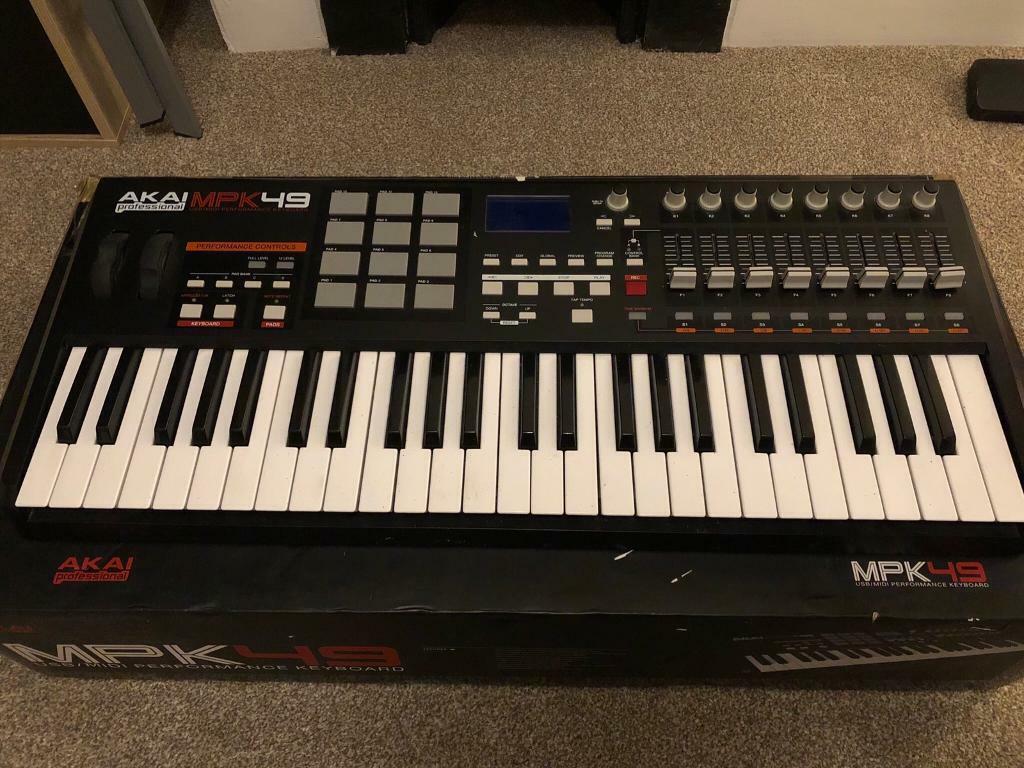 AKAI MPK49 USB midi keyboard | in Norwich, Norfolk | Gumtree