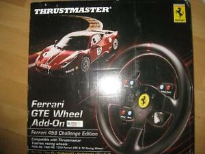 Thrustmaster Ferrari GTE F458 Wheel Add-On for Sony PS3 / PS4 / PC / Xbox One. NEW