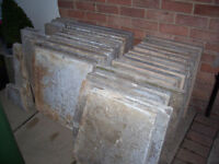 PAVING SLABS-FREE FOR COLLECTION