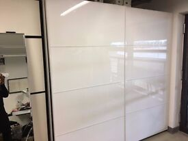 Ikea Pax wardrobe - Glossy white and high quality