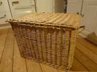 Large wicker trunk. SOLD but not yet collected.
