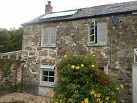 Character 'end of terrace' stone cottage in Mid Cornwall. Fully refurbished, lovely garden and views