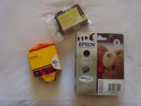EPSOM & KODAK Printer ink cartridges( Assorted )