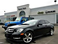 2013 Mercedes-Benz C250 COUPE Leather Pano Sunroof Bluetooth Htd