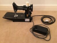 Singer 221k feather weight electric sewing machine