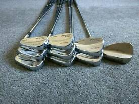 Titleist 695mb irons + vokey wedge