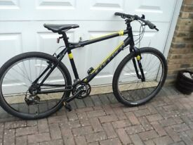 Carrera Limited edition! Mountain bike upgraded gears