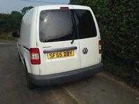 VW caddy van ,swaps for bigger van